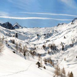 Kaprun - Blick aufs Skigebiet