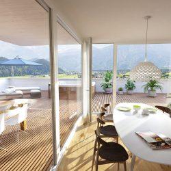 Loacation_Bilder_2_node10_Zimcon Ludesch Penthouse Esszimmer