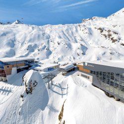 Kaprun - 3K Bergstation links DROHNE