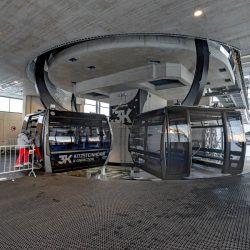 Kaprun - 3K Bergstation Ausstieg